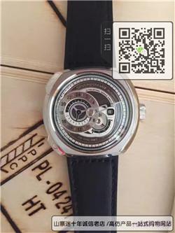 高仿Sevenfriday七个星期五最新Q系列男士皮带机械手表Q1/01☼