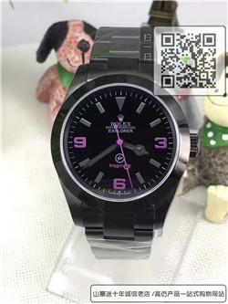 精仿劳力士探险家型系列男表  精仿114270-78690手表☼
