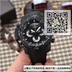 高仿GRAHAM格林汉姆多功能男表橡胶表带机械表45MM☼