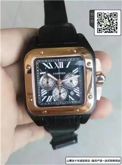 高仿卡地亚桑托斯系列男表  高仿W2020004手表☼