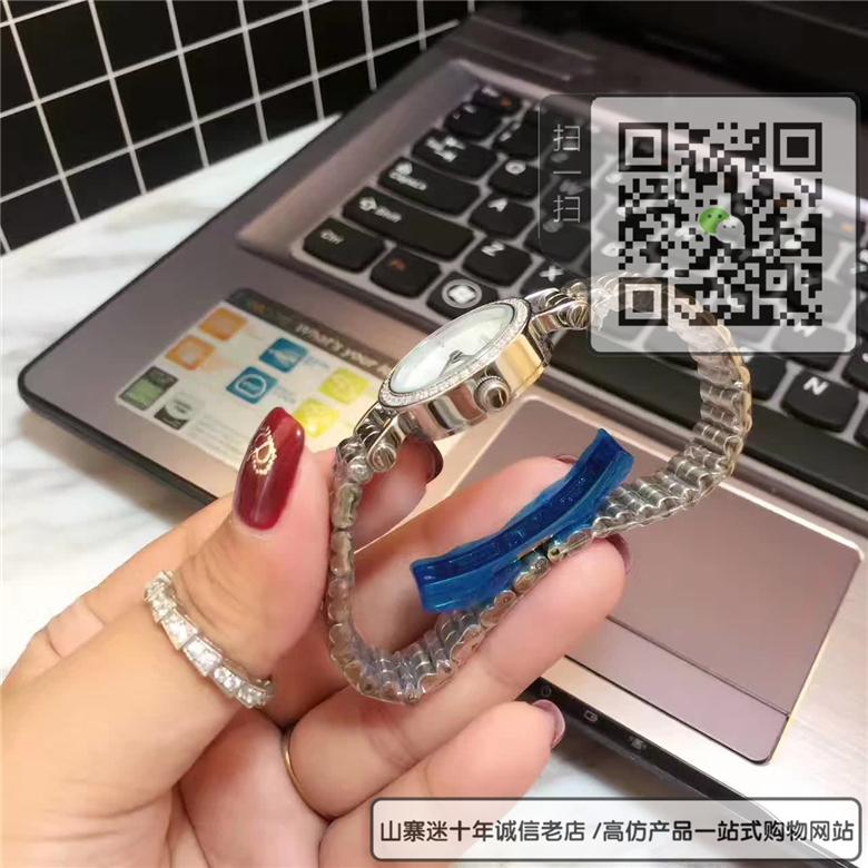 精仿爱马仕Faubourg 系列女表金属圈环机械表精钢表25MM图片