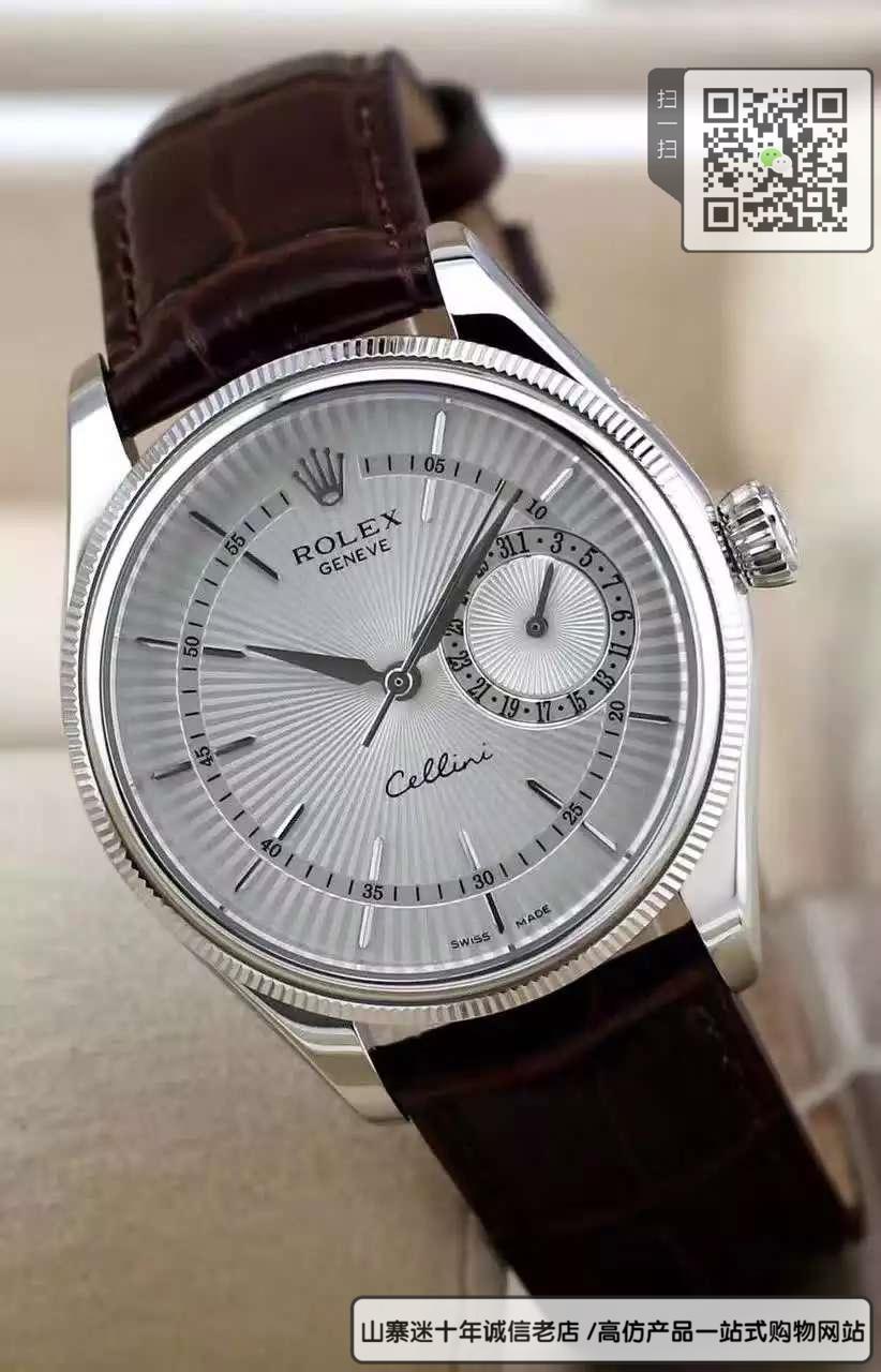 精仿劳力士切利尼系列男表  精仿50519手表图片
