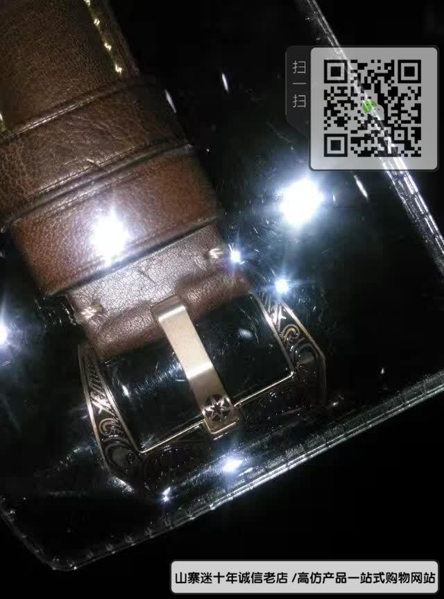 精仿沛纳海机械表男表真皮表带精钢表壳47MM图片
