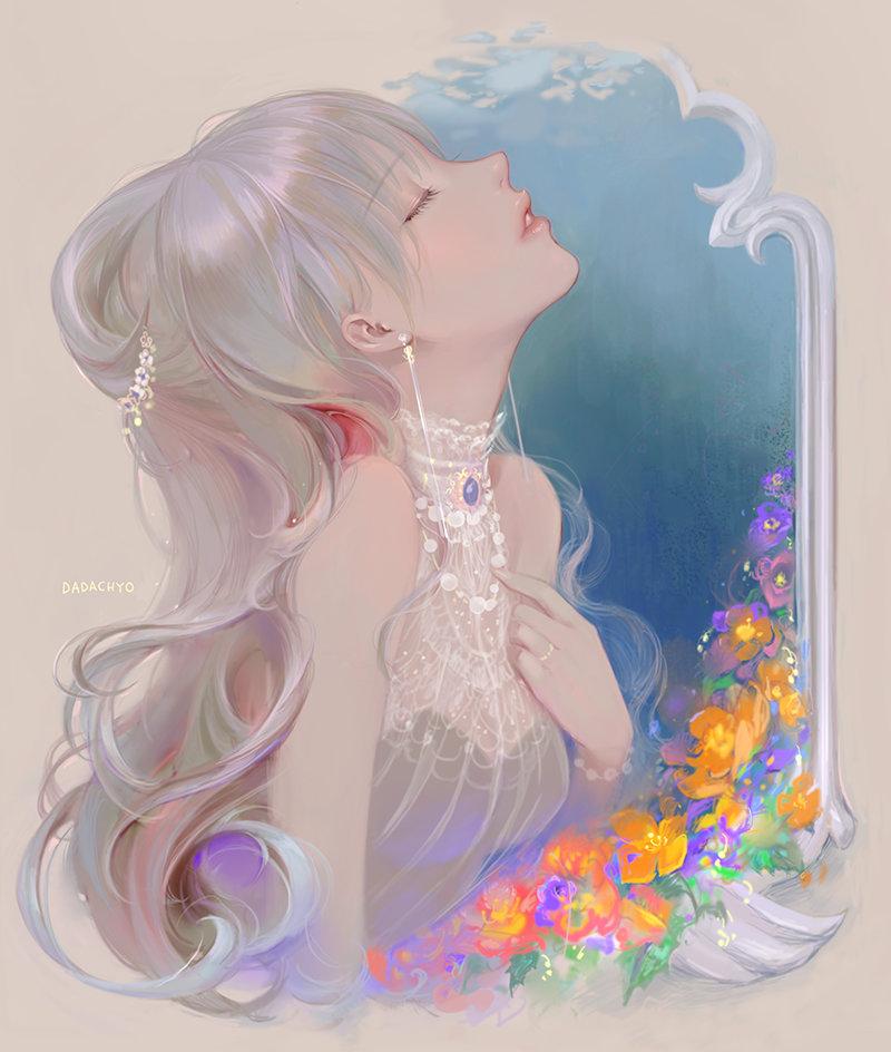 韩国画师DADACHYO-达达踔插画