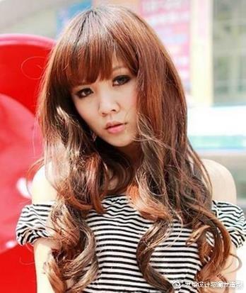 9款适合颧骨高女生的发型 浪漫卷发塑造完美脸型 时尚潮流 第7张