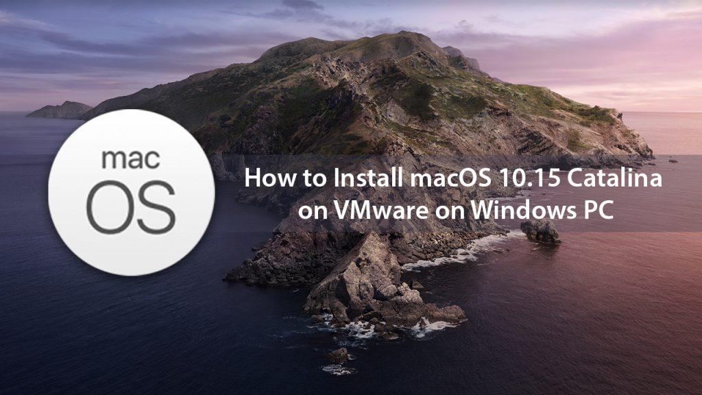 虚拟机VMware安装黑苹果MAC系统教程