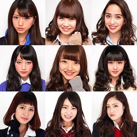 日本高中生选美比赛 妆前妆后对比照大曝光