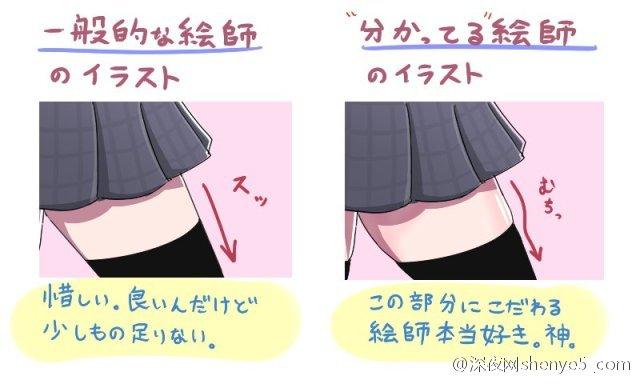 女孩大腿最美的一点在哪里?绝对领域的诱惑细节 深夜老司机 图1