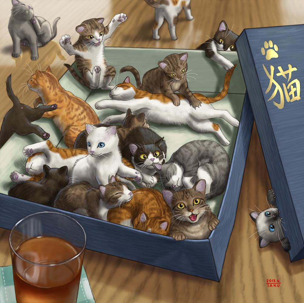 「专题图集」猫控福利——ネコ-萌宅社 一个ACG资源基地、绅士之家Σ(゜ロ゜;)