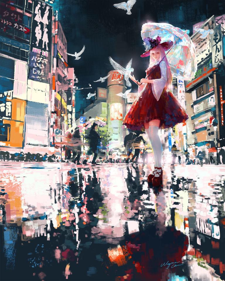 「动漫壁纸」东京城市特辑-萌宅社|一个ACG资源基地、绅士之家Σ(゜ロ゜;)