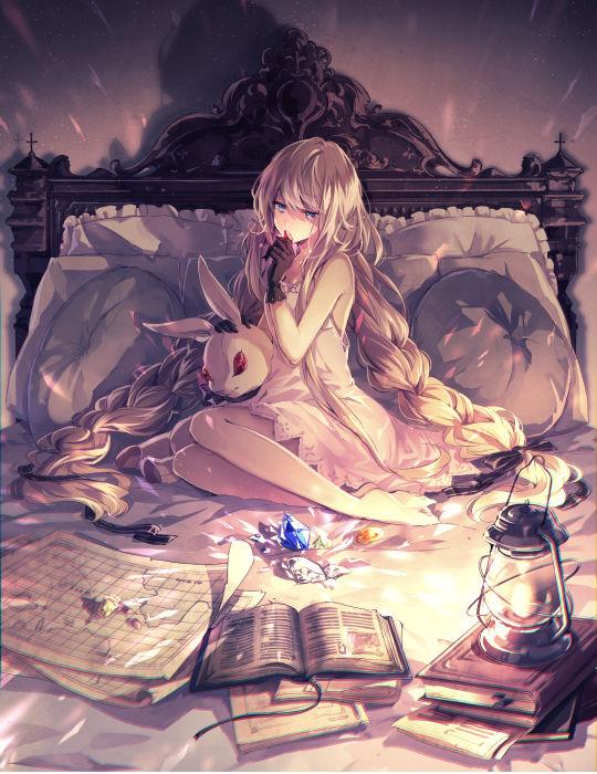 「主题图集」躺在柔软的床上-萌宅社|一个ACG资源基地、绅士之家Σ(゜ロ゜;)