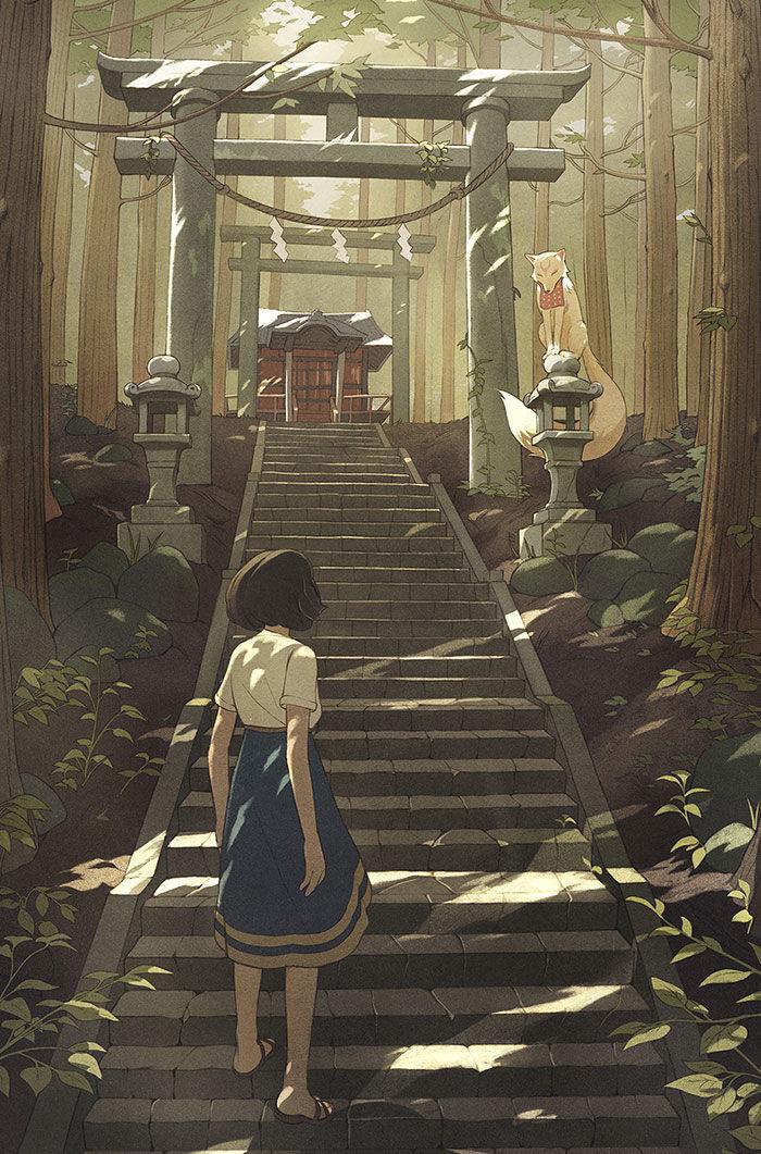 「动漫图集」神圣的世界-风景壁纸专辑-萌宅社|一个ACG资源基地、绅士之家Σ(゜ロ゜;)