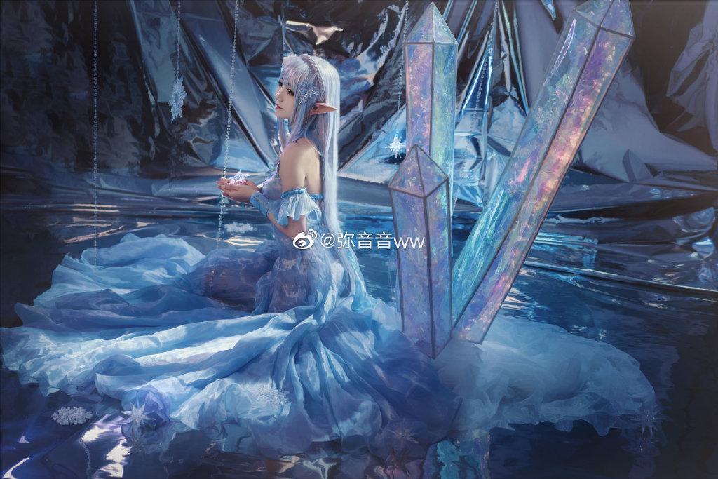 【cos正片】《Re:从零开始的异世界生活》爱蜜莉雅cosplay欣赏 cosplay-第11张