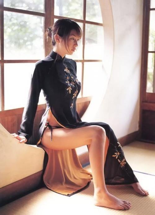 旗袍什么的最有古典美了