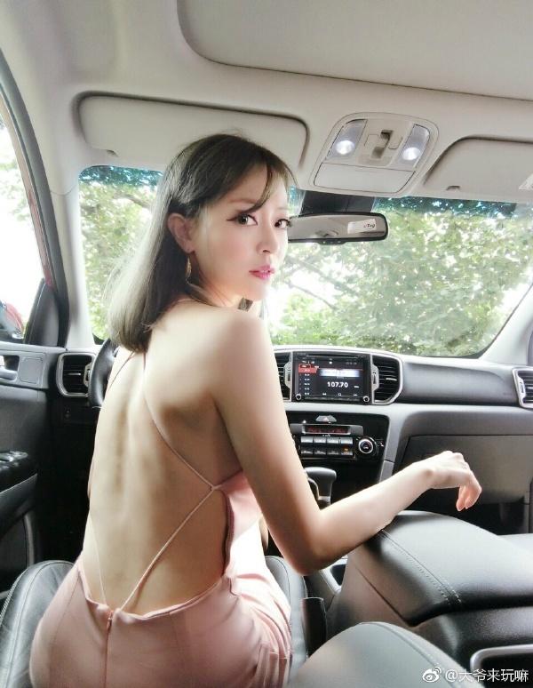 可以舒服的车震了 终于把座放平了