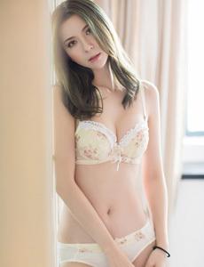 【美媛馆】泳装美女熊吖BOBO,肥满的三角