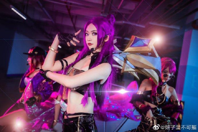【cos正片】《KDA女团》帅气出道  cosplay欣赏 cosplay-第7张
