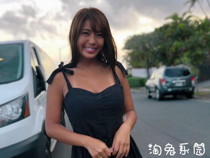 日本写真界的G奶黑辣妹桥本梨菜夏威夷岛性感写真