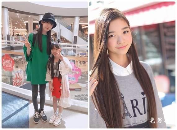 惊了!174cm长腿美少女夏目璃乃居然还在上小学?