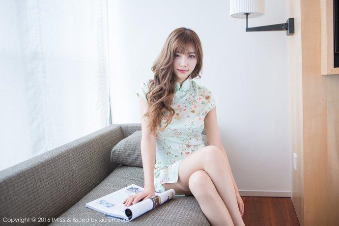 【XIUREN秀人网】超薄肉丝袜极品旗袍妹子-宅男说