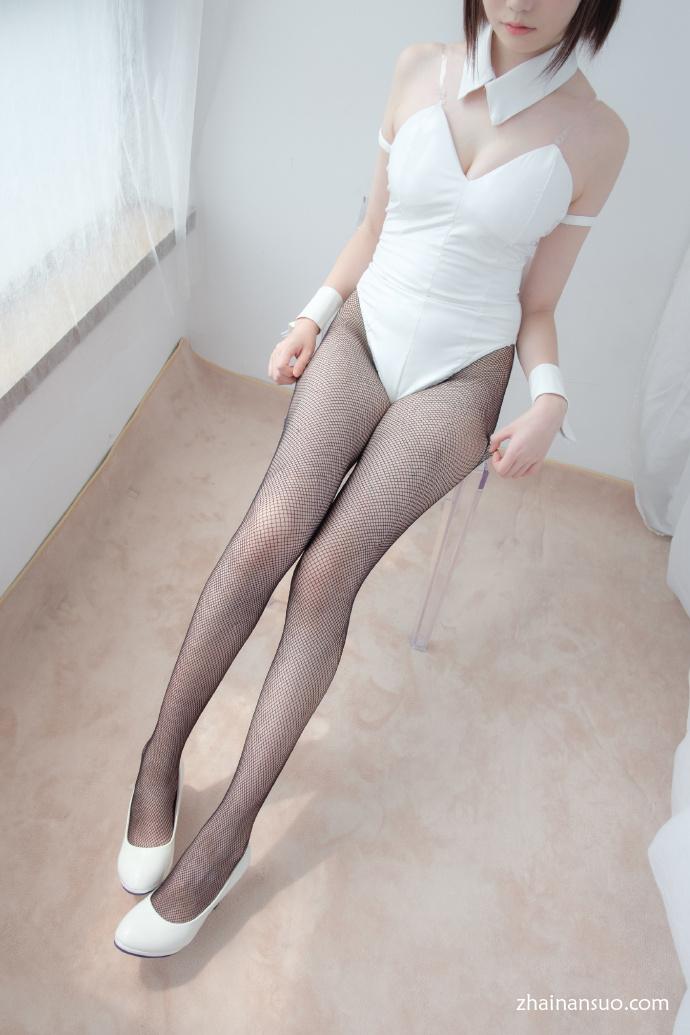 【森萝财团】-LOVEPLUS-001可爱黑丝兔女郎-宅男说