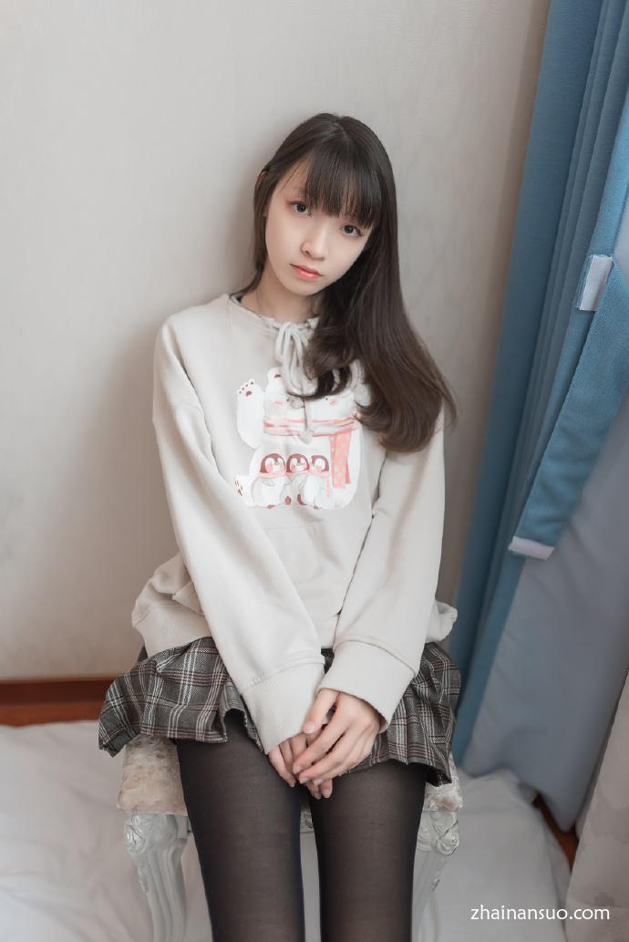 【妹子图】森萝财团X-005清纯美女黑丝-宅男说
