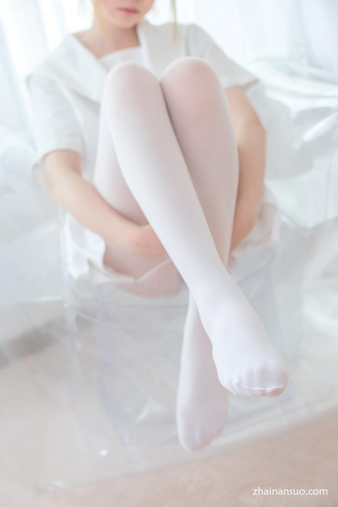 【妹子图】森萝财团X-038纯色白丝天使-宅男说