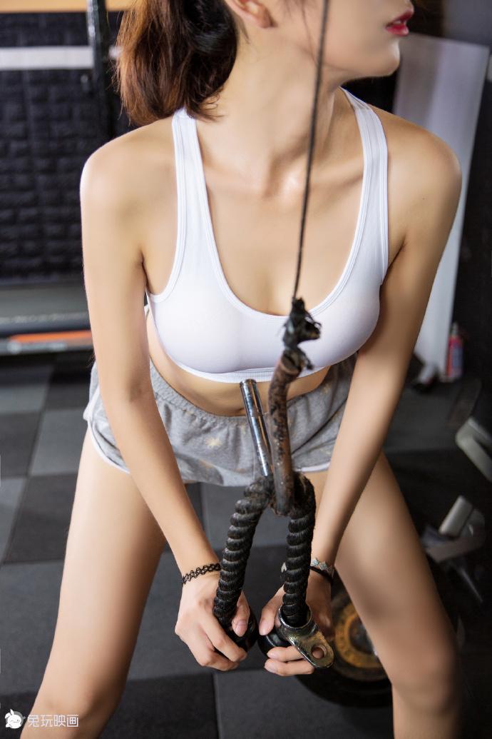 健身房的果腿少女(38P) 兔玩映画