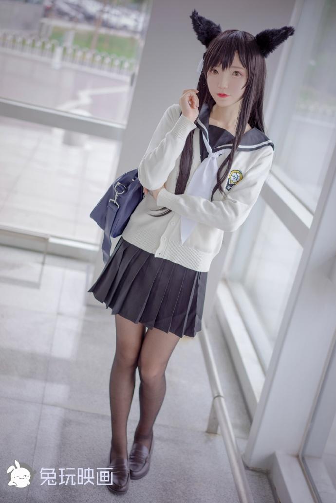 大长腿的黑丝小姐姐(47P) 兔玩映画