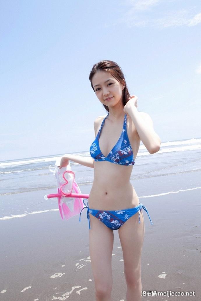 海滩美女 比基尼