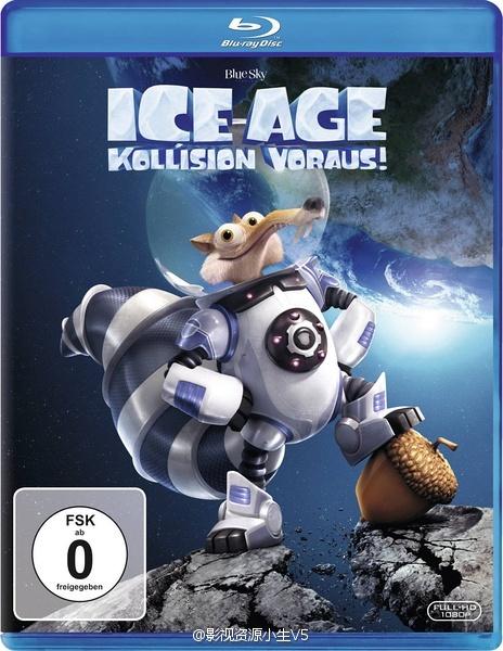 2016动画冒险《冰川时代5:星际碰撞》BD720P.国英台粤音轨.高清中英双字