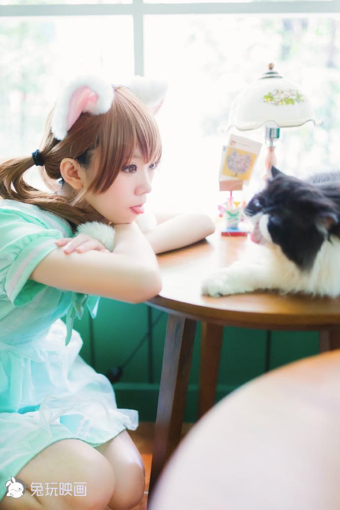 白喵喵喵(46P) 兔玩映画