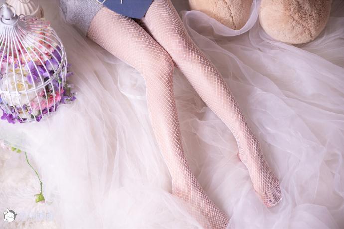 超棒的白色网袜(44P) 兔玩映画