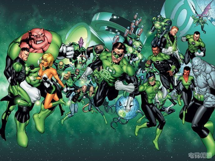 DC新绿灯侠登场!不仅是中国人,并且还不只一个