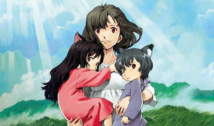 母亲和孩子之间的信任与爱,是不会变的《狼的孩子雨和雪》