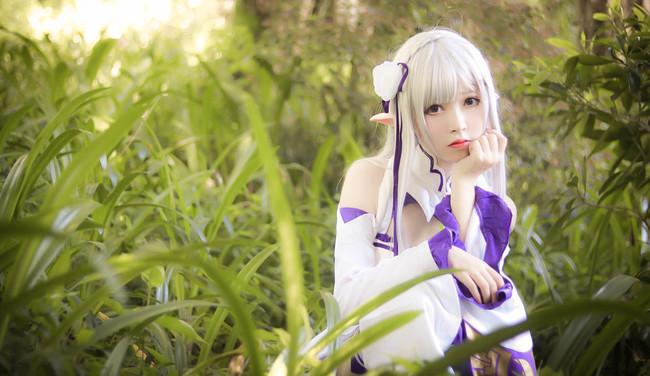 艾米莉亚cosplay:昴,为什么…要这么帮我呢?-新图包