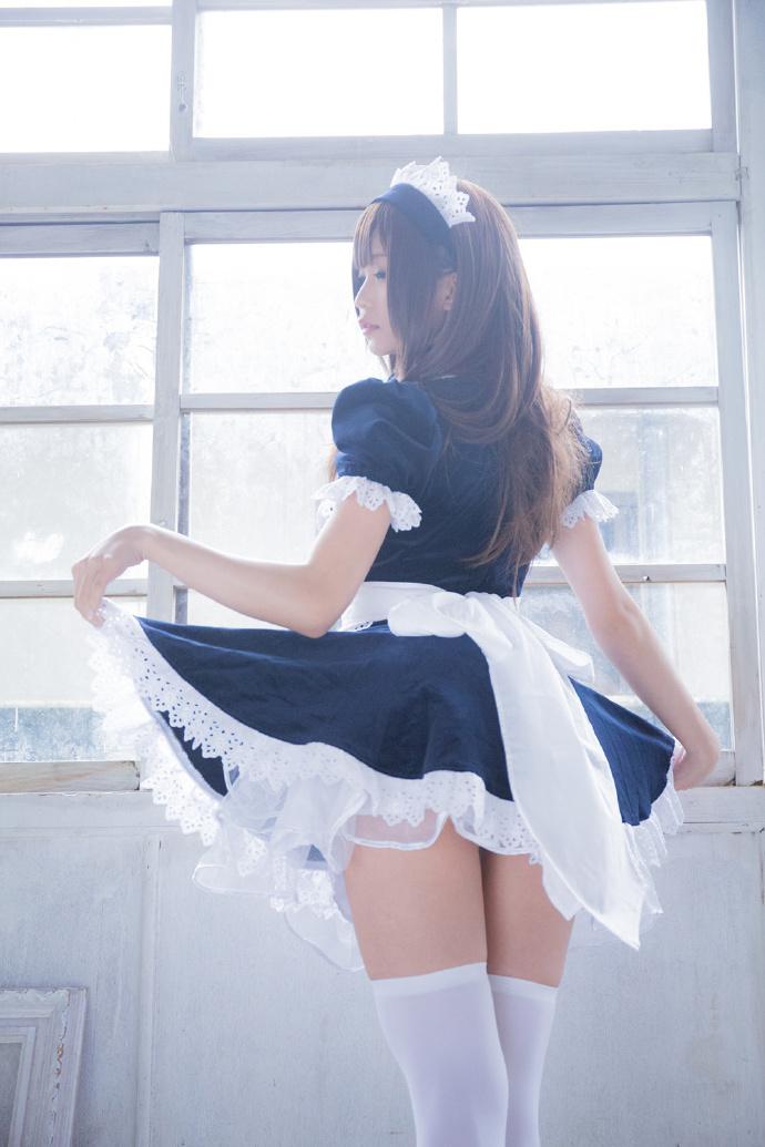 白丝:女仆系列最全写真集合:生之颂[喷血推荐]