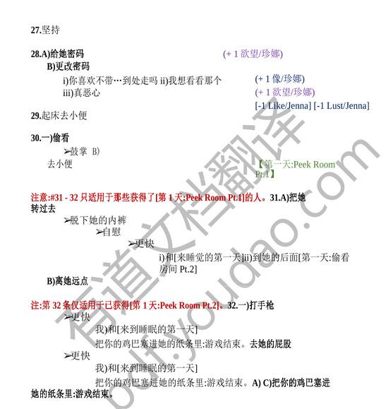 [非分之想] EP9最新完整中文攻略[大神分享]