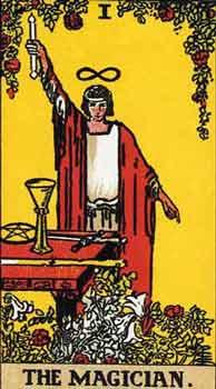 塔罗卡牌「魔术师」在占卜爱情方面的解释
