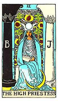《小白快速入门塔罗牌》:2号女祭司