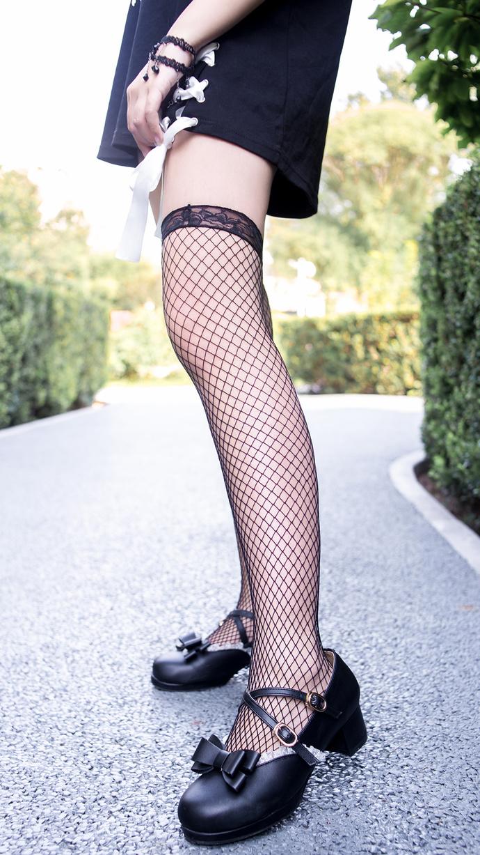 黑丝网袜萝莉 清纯丝袜