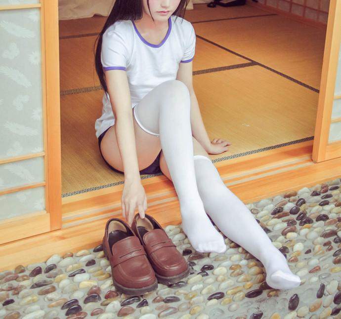 饭团少女私房白袜子 清纯丝袜