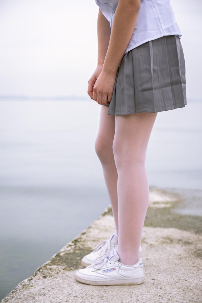 海边的肉丝卡哇伊女友 清纯丝袜