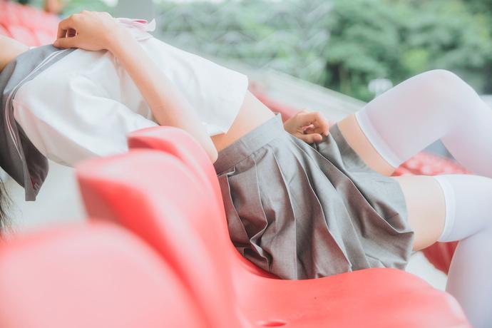 白丝短裙 jk 小萝莉 清纯丝袜