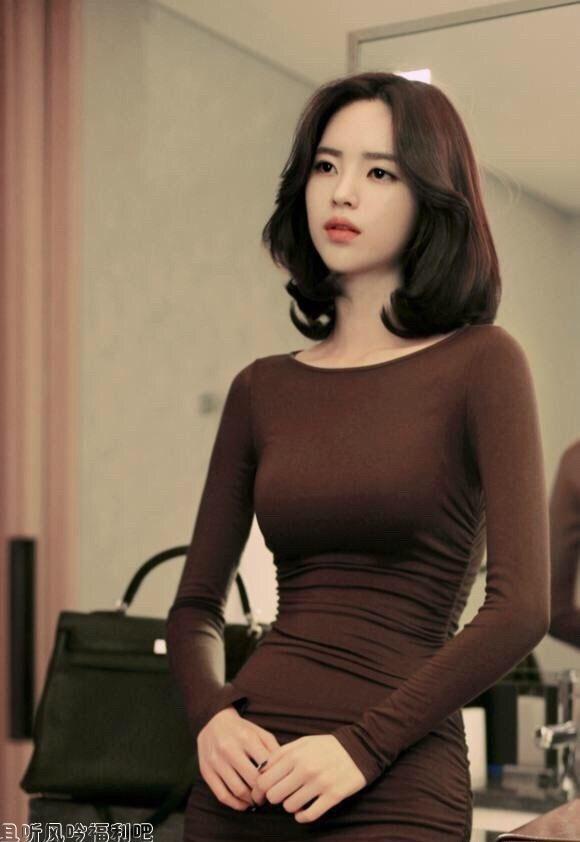 尹善英,韩国高颜值美女模特