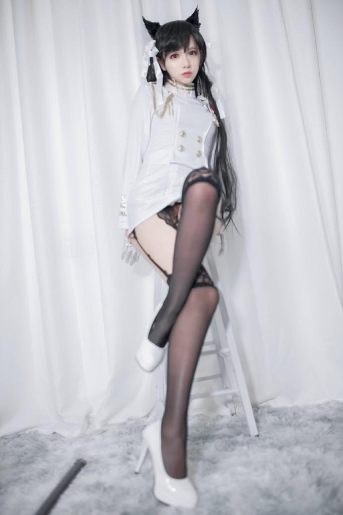 【疯猫ss】cosplay碧蓝航线爱宕制服丝袜图集 次元美图