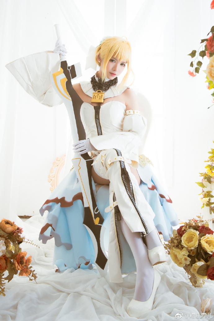 【cos正片】余要告白了《FGO》尼禄花嫁cosplay欣赏 cosplay-第9张