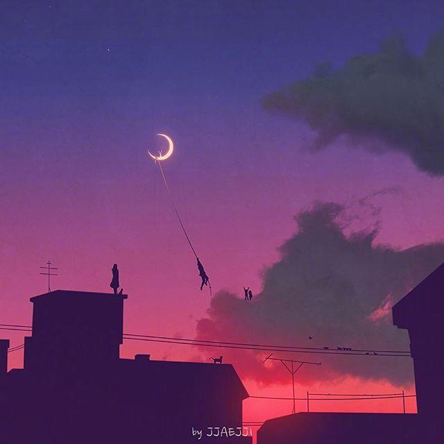 七月晚安心语说说:愿你是个美好的人,简单,纯粹