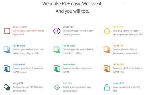 Smallpdf 下载 网页版在线 PDF 处理【好用推荐】插图