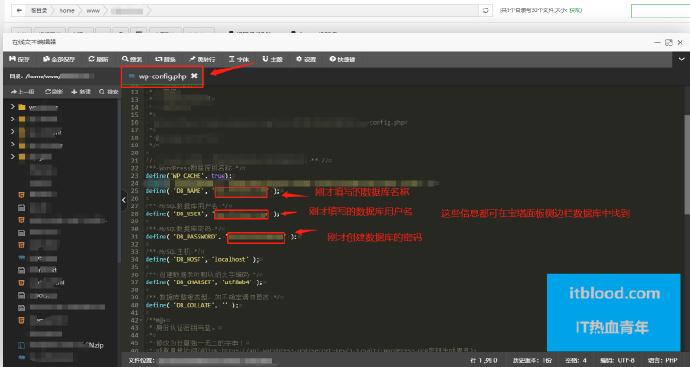 宝塔linux wordpress网站 Error establishing a database connection 【解决办法】插图(6)